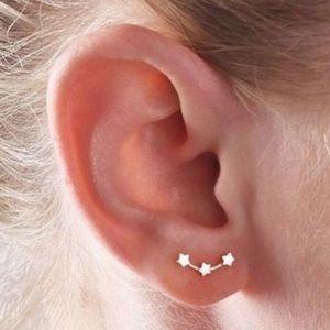 🆕 DAINTY TRIPLE STAR STUD EARRINGS